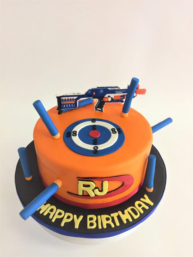 Nerf Cake Boy Birthday