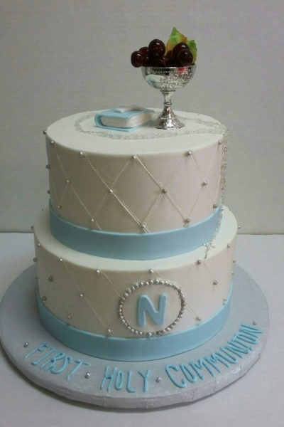 Baptism & First Communion Cake
