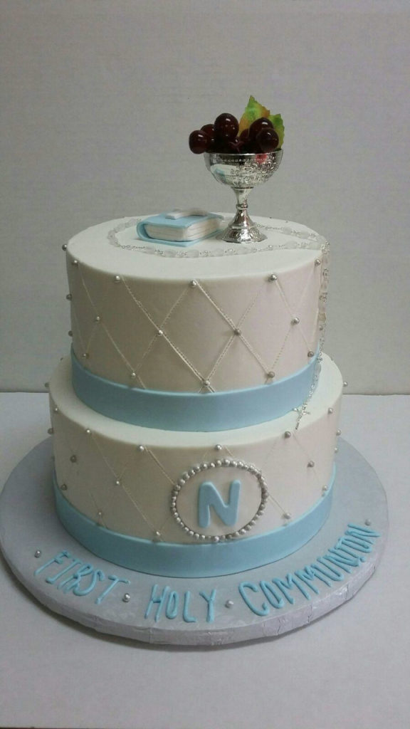 Baptism and First Communion Cakes - Nancy s Cake Designs
