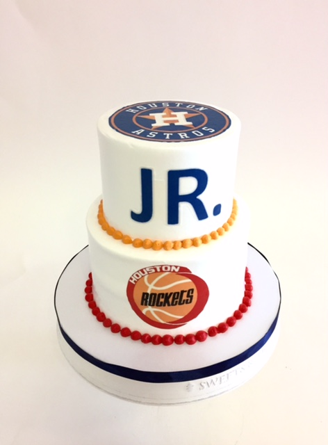 Man Birthday Cake My Valentine Astros And Rockets