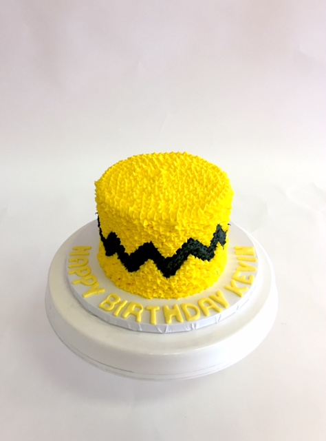 Outstanding A Charlie Brown Cake Nancys Cake Designs Personalised Birthday Cards Paralily Jamesorg