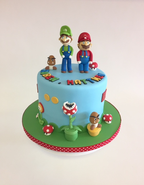 Surprising Mario Luigi Nancys Cake Designs Funny Birthday Cards Online Unhofree Goldxyz