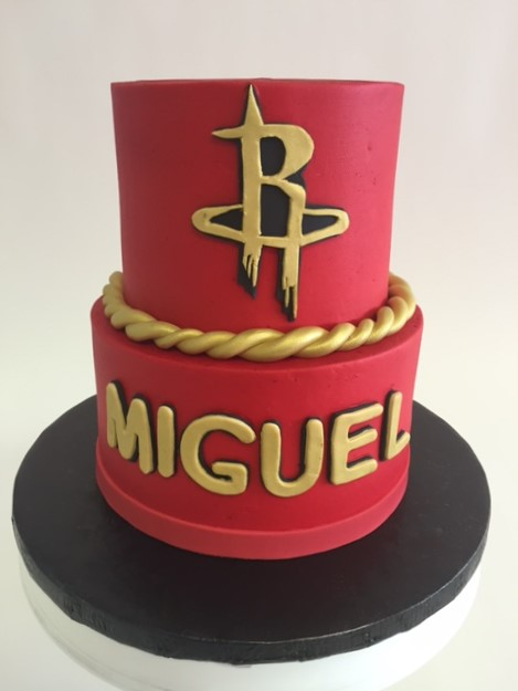 Excellent Houston Rockets Nancys Cake Designs Personalised Birthday Cards Paralily Jamesorg