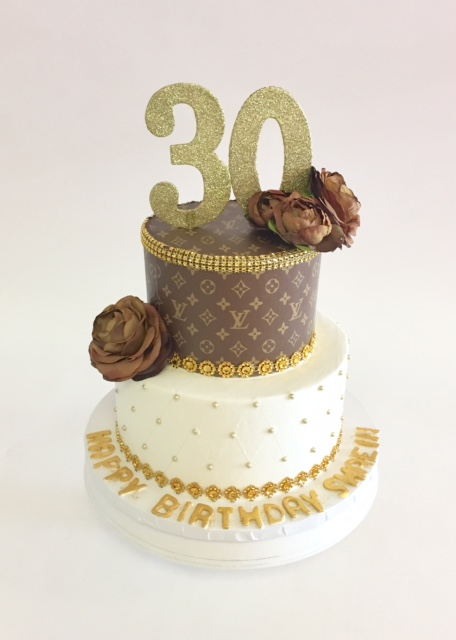Pleasant Louis Vuitton Elegance Nancys Cake Designs Funny Birthday Cards Online Alyptdamsfinfo