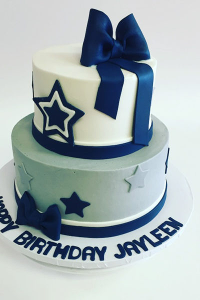 Girl Birthday Cake Baby Astros Fan