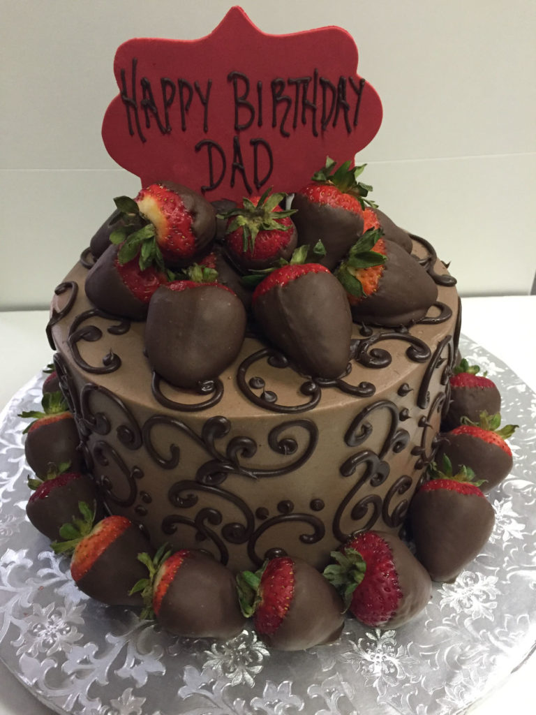 Man Birthday Cake Chocolate Indulgence