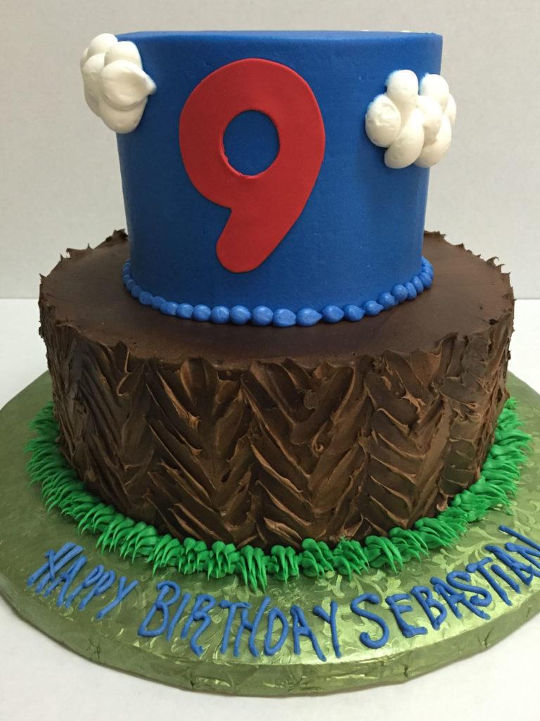 Boy Birthday Cake Cloud 9