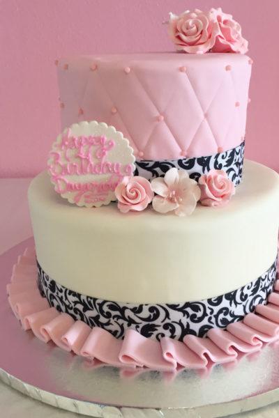 Brilliant Girls Birthday Cakes Nancys Cake Designs Funny Birthday Cards Online Alyptdamsfinfo