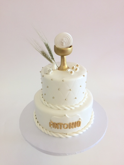 Baptism And First Communion Cakes Nancy S Cake Designs