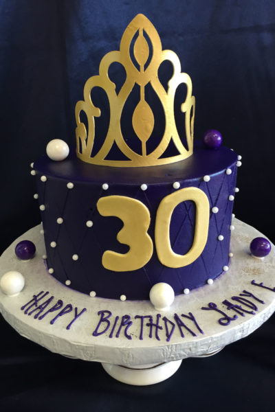 Woman Birthday Cake Gumball Queen