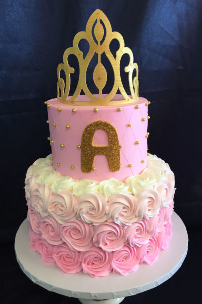 Girl Birthday Cake Little Princess