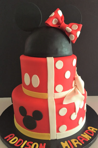 Incredible Mickey Mouse Birthday Cake For Girls Top Birthday Cake Pictures Funny Birthday Cards Online Overcheapnameinfo