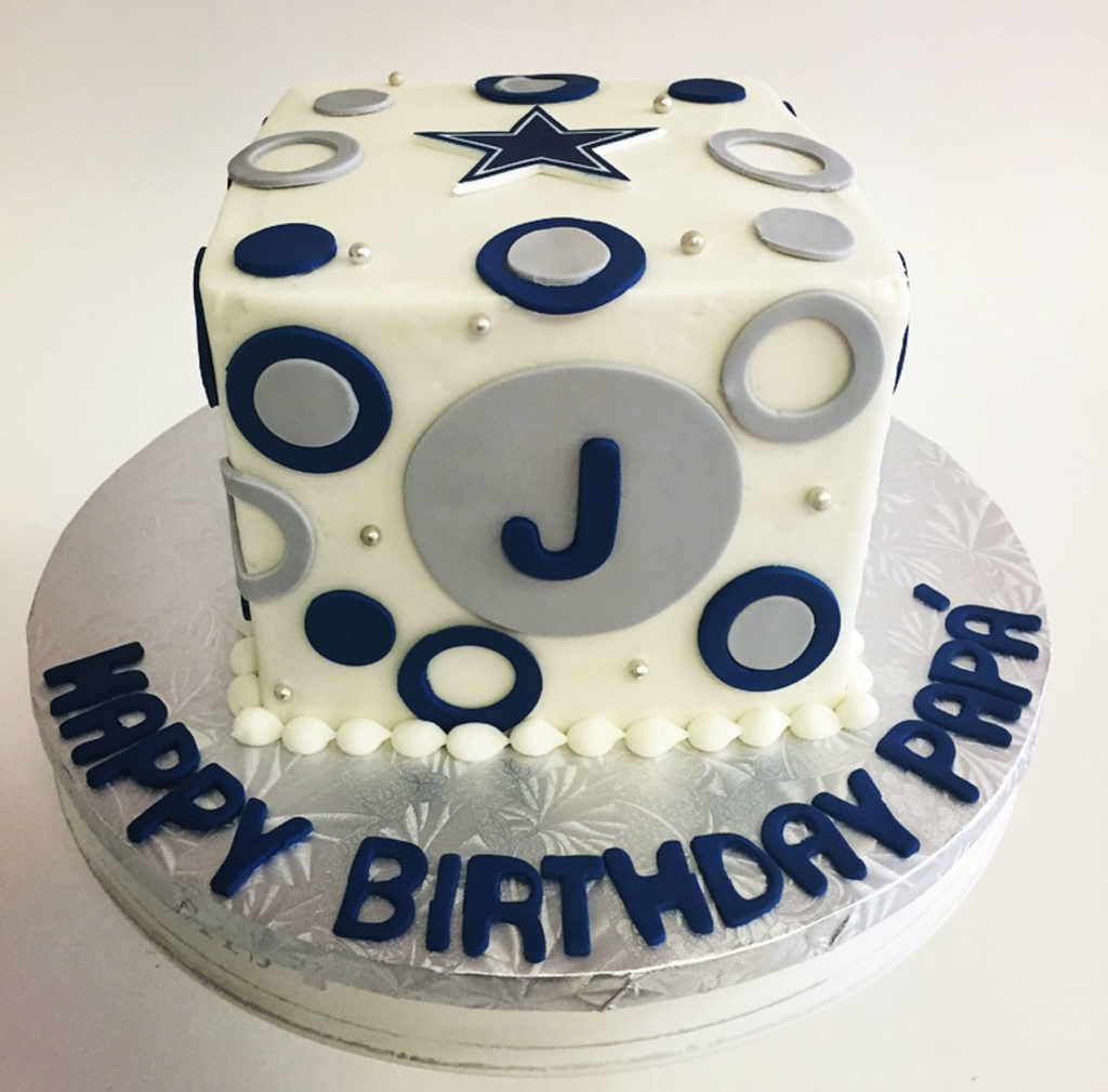 Man Birthday Cake Modern And Eclectic