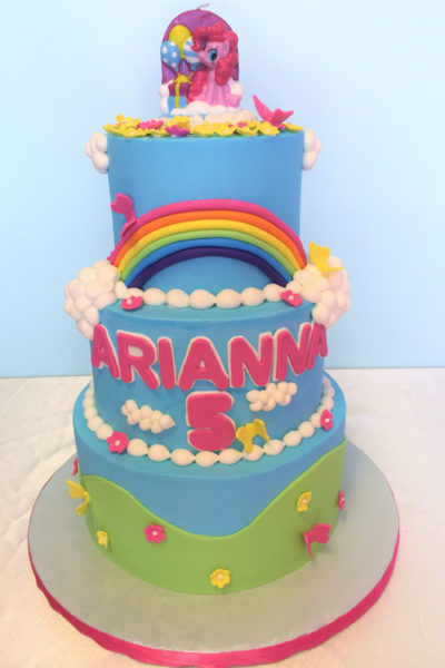 Girl Birthday Cake My Little Pony