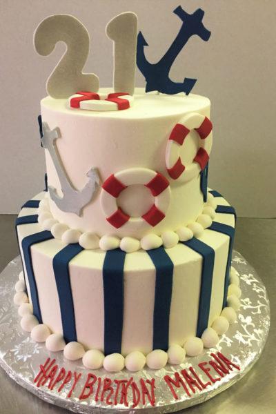 Girl Birthday Cake
