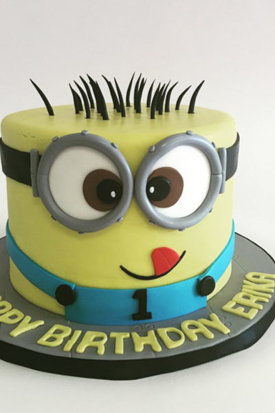 Boy Birthday Cake Silly Minion