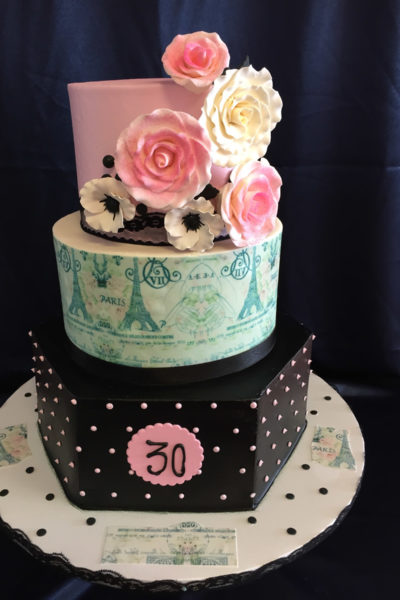 30th Birthday Cakes Inspirations for the Fabulous You ...