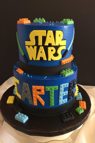 Boy Birthday Cake Star Wars Legos