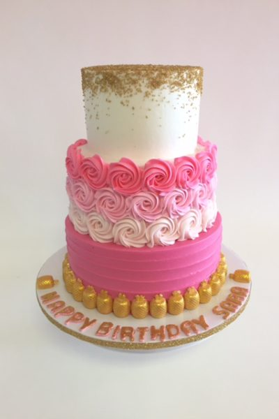 Birthday Cake Gallery Design