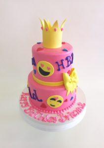 Nancys Cake Designs Girls Birthday Cakes Emoji Galore