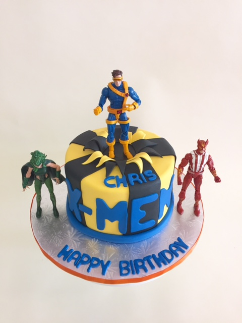 X - Men - Nancy's Cake Designs